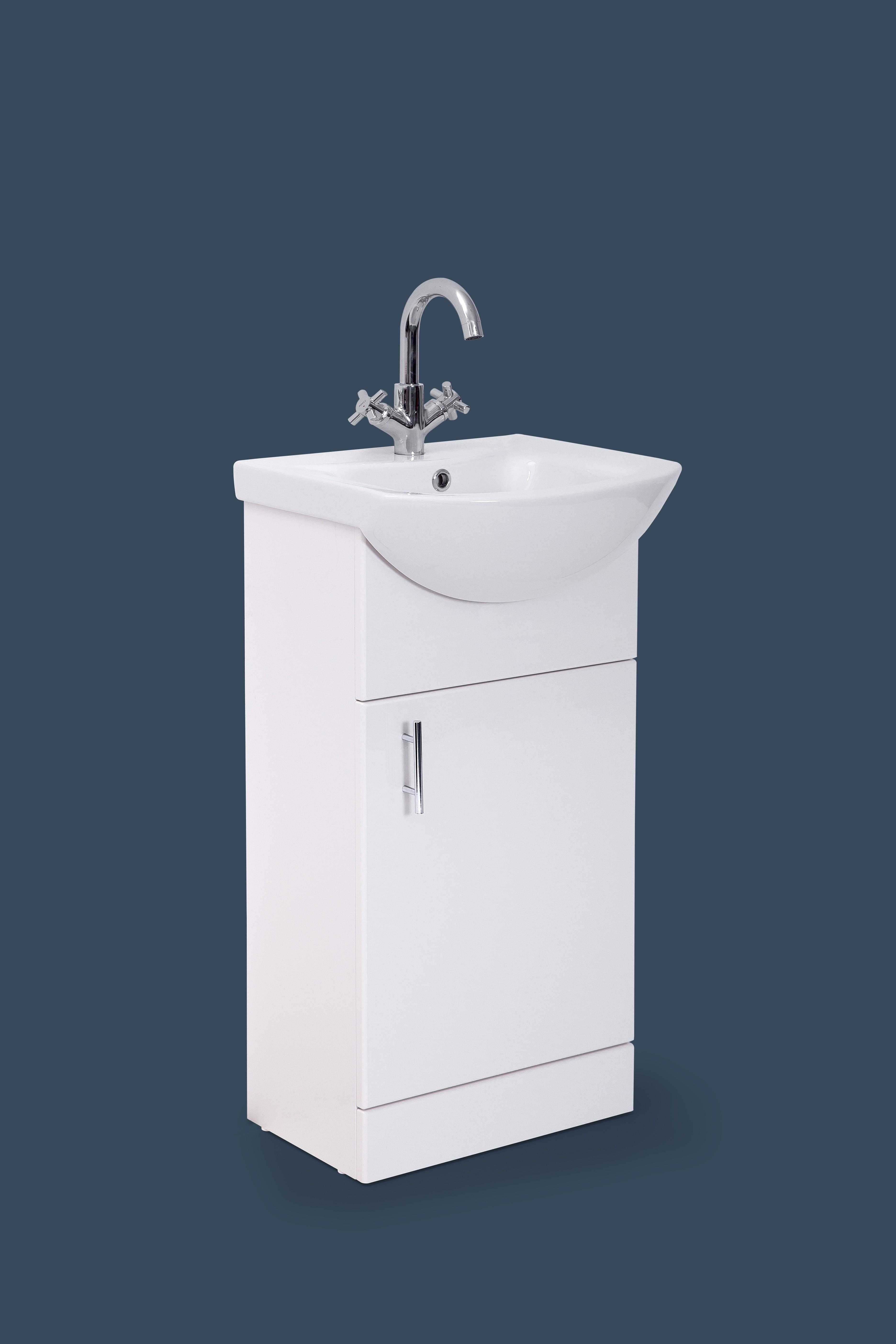 Moderna 450mm Basin and Unit | Niko Bathrooms