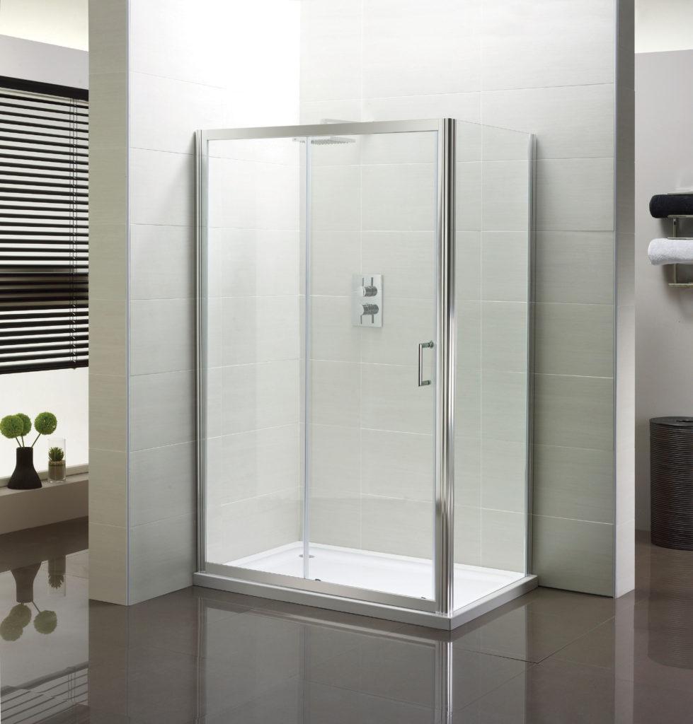 Slider Shower Enclosure 1000mm Niko Bathrooms