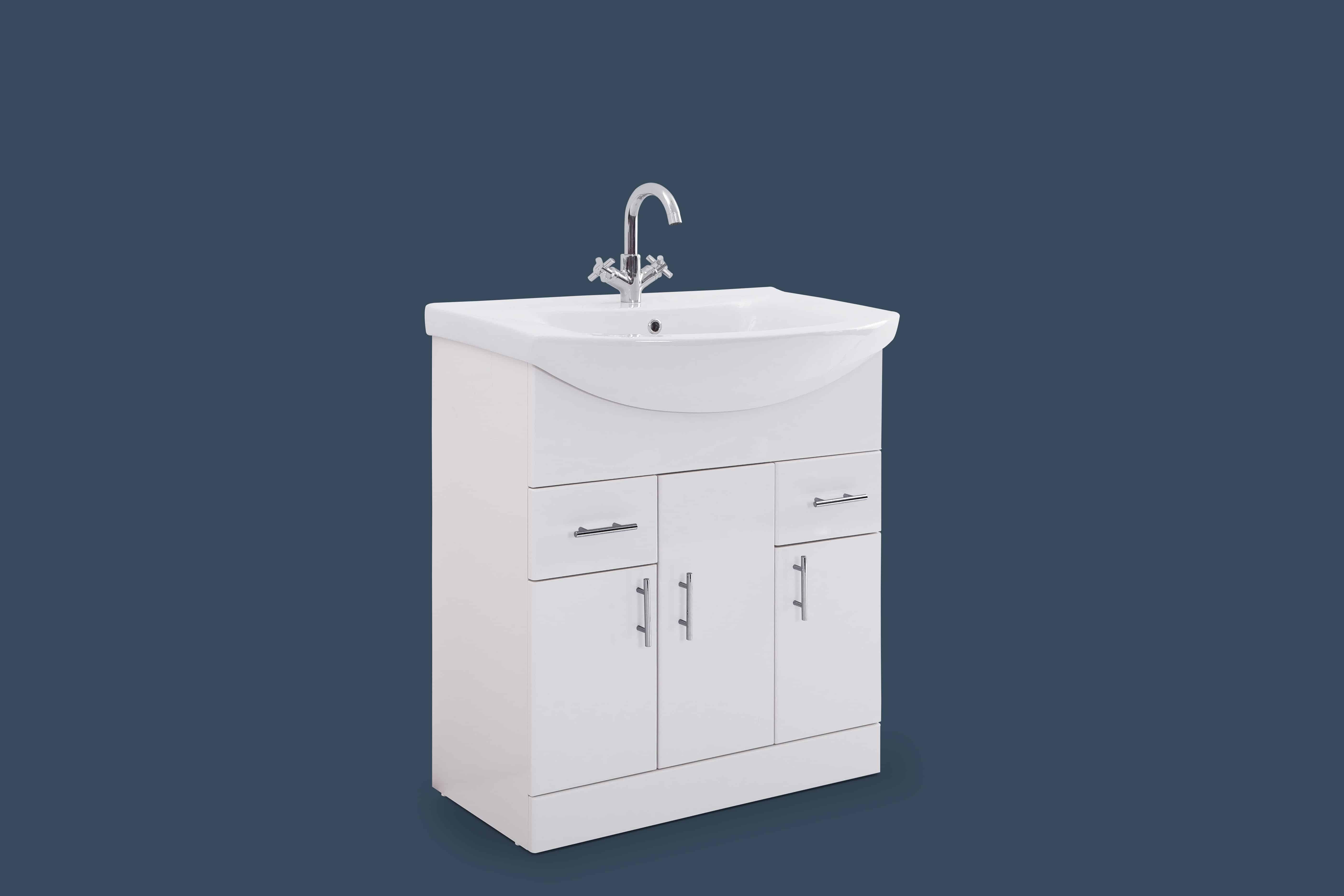 Moderna 750mm Basin & Unit | Niko Bathrooms
