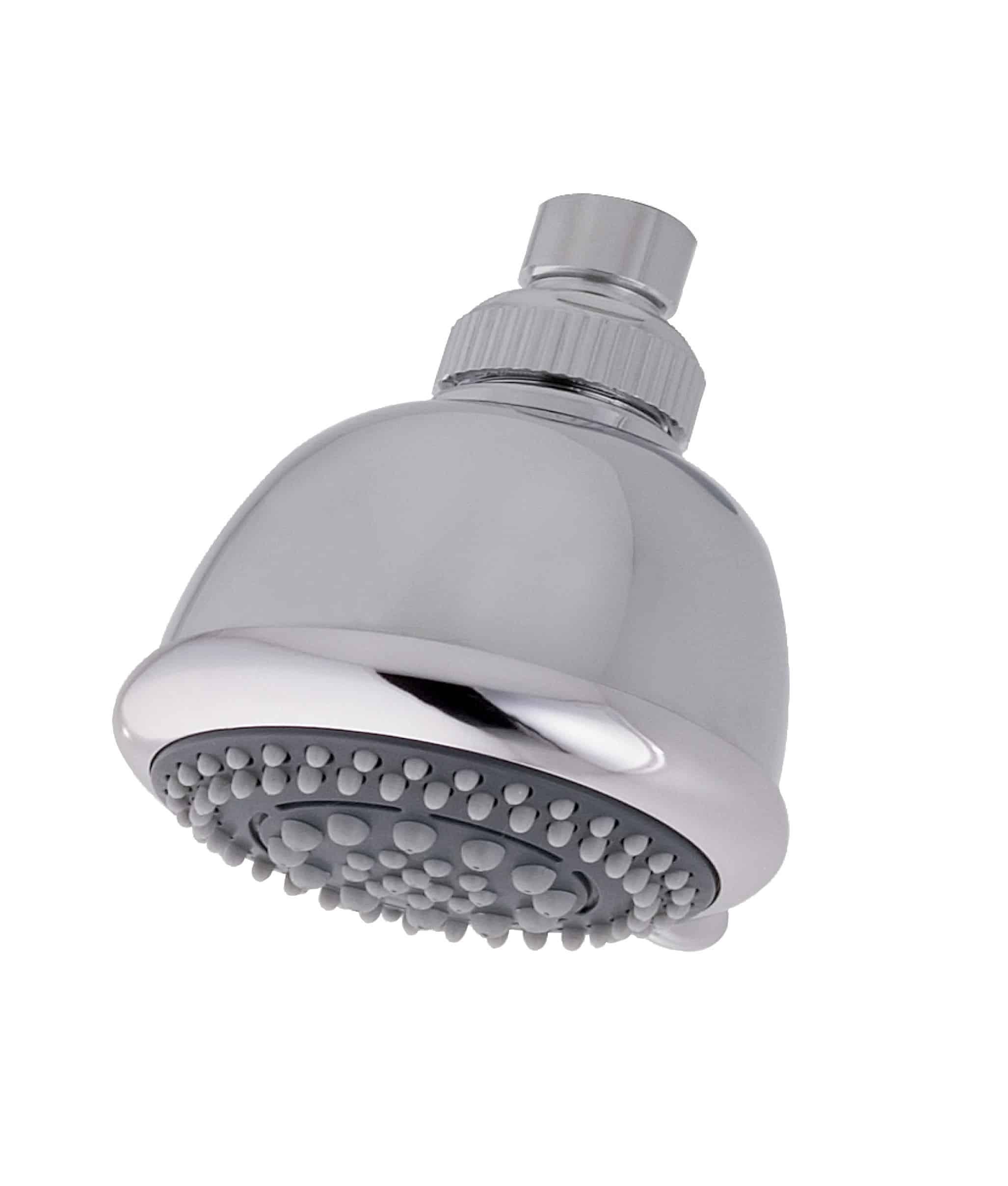 MX Energy 6 Mode Fixed Shower Head Chrome   Niko Bathrooms
