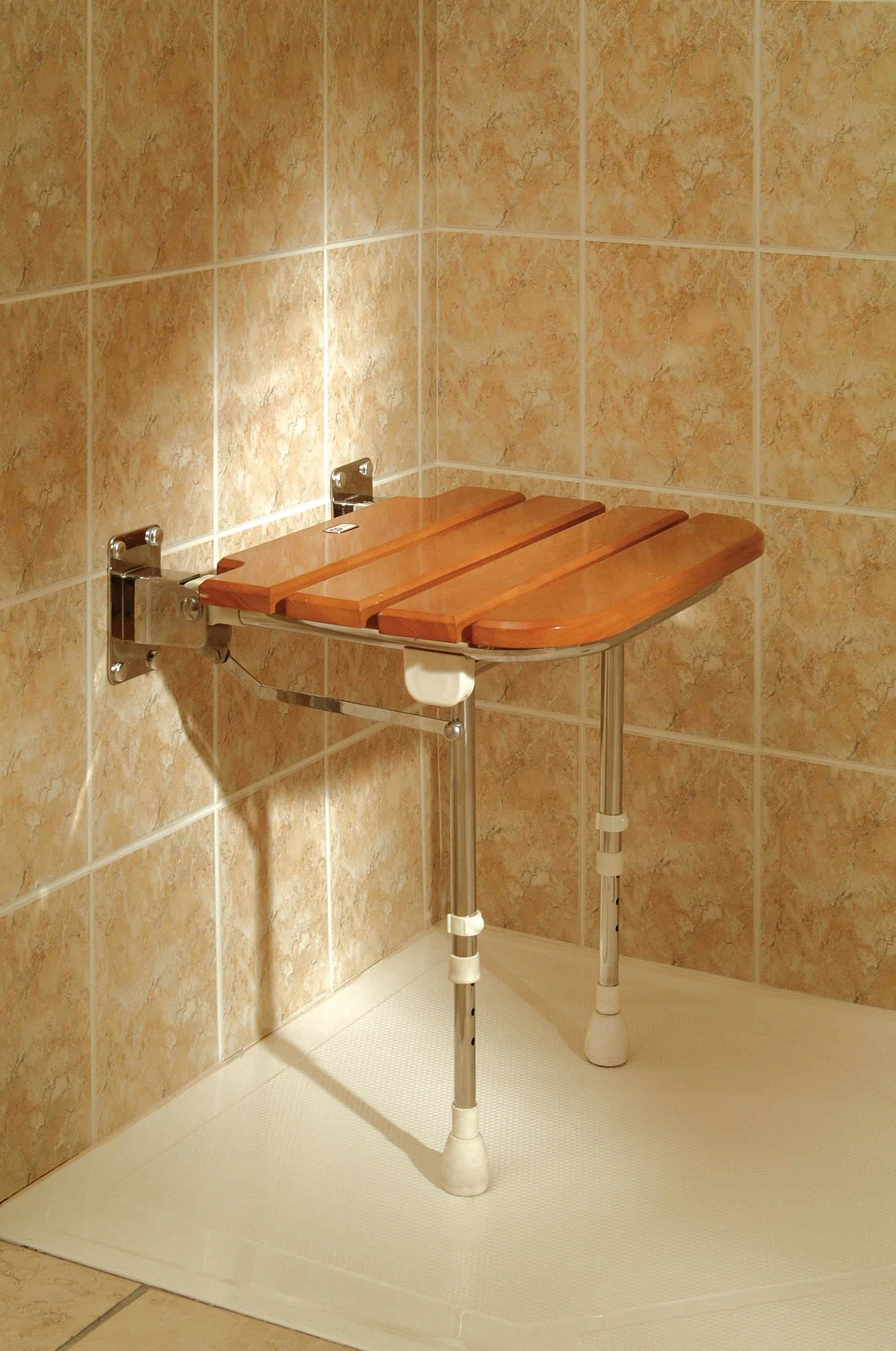 diy bench shower redwood ana seat projects white
