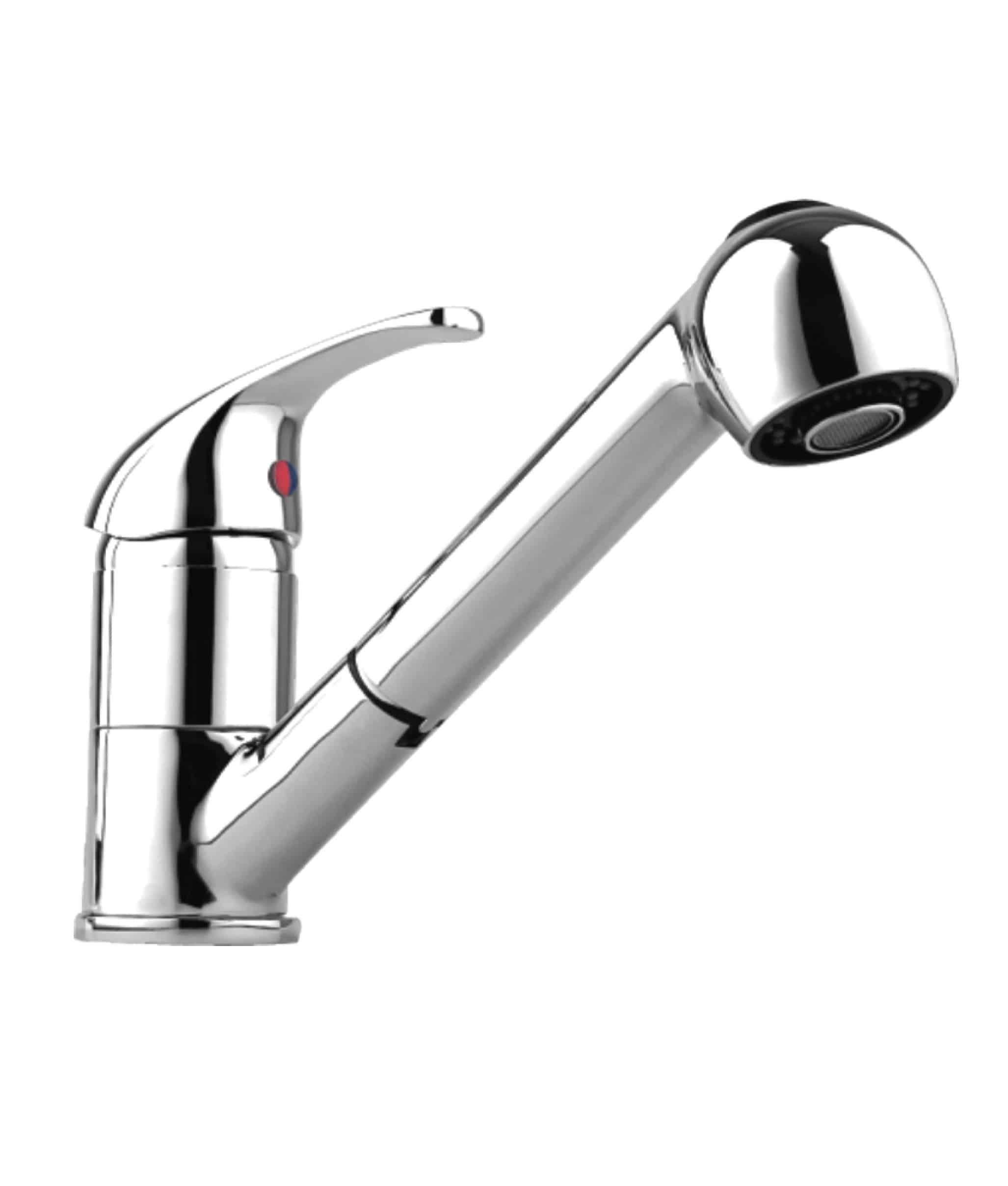 Plus Single Lever Pull Out Spout Sink Mixer | Niko Bathrooms