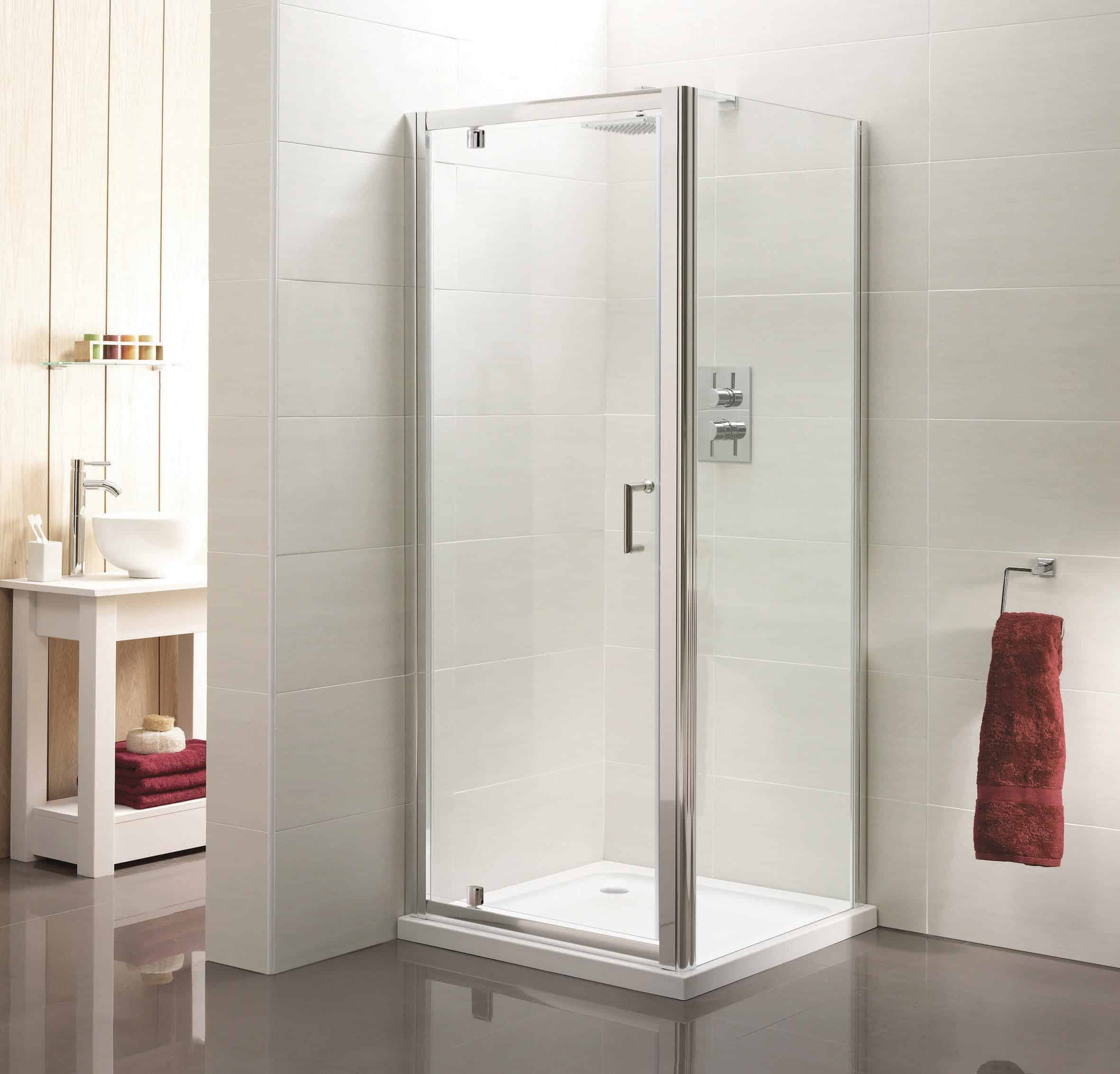 Pivot Shower Door 760mm Niko Bathrooms