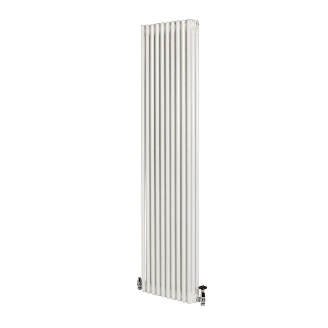 Revive 3 Column Vertical Radiator White H 2000mm W 490mm